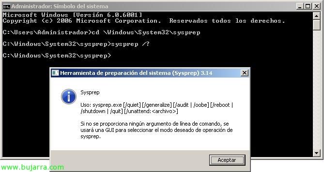 Clonando Windows Server 2008 | Blog Bujarra com