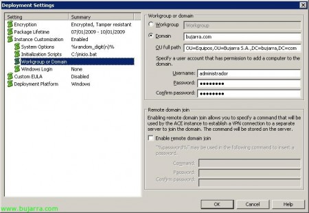 Instalando VMware Workstation ACE, MV creating for use with