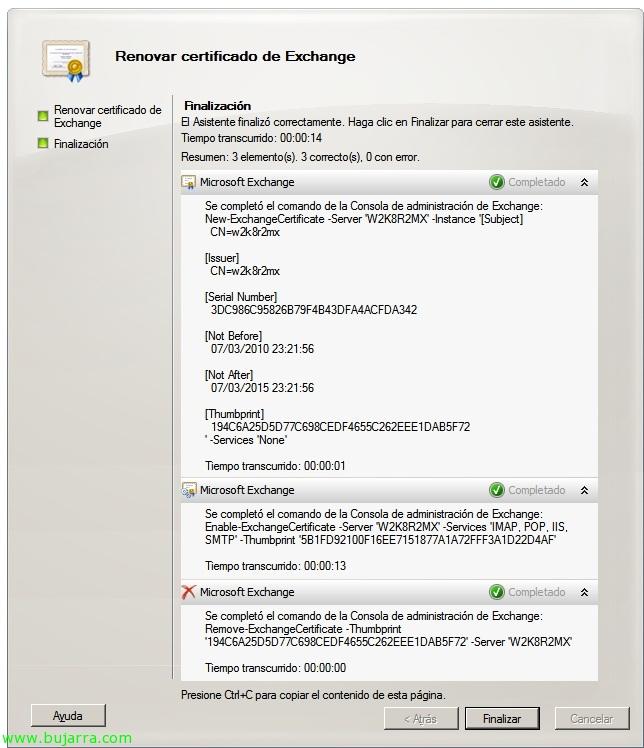 How Self Signed Certificates Exchange 2010 Blog Bujarra