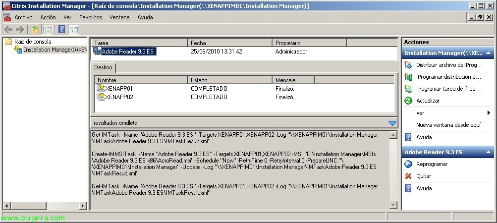 Installation and Configuration Installation Manager for Citrix