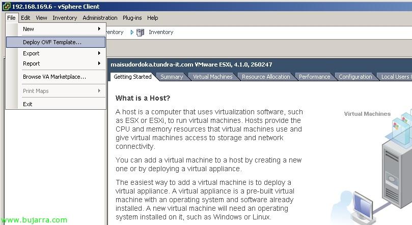 Usando VMware vMA   Blog Bujarra com