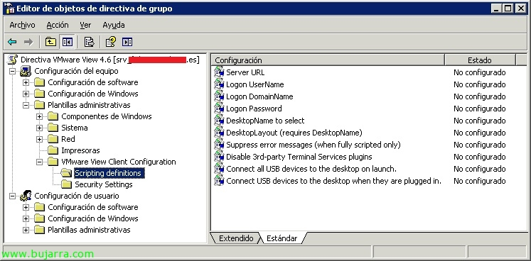 Usando las GPO's de VMware View 4 6 | Blog Bujarra com