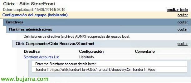 Citrix Receiver y StoreFront con Single Sign On | Blog