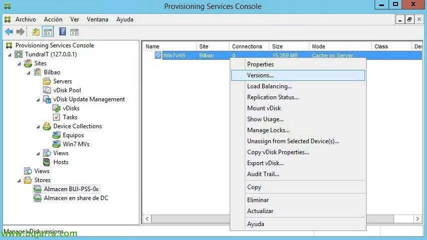 Upgrading a vDisk in Citrix Provisioning | Blog Bujarra com