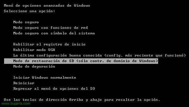 Defragmentieren und komprimieren die Datenbank in Windows Active Directory 2003