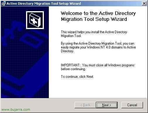 ADMT y PWDMIG – Migrar cuentas de usuarios de NT4 o W2K a W2K3