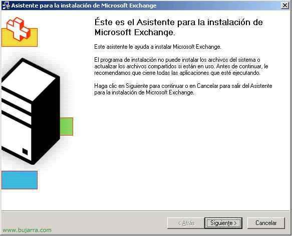 Instalación de servidores adicionales de Microsoft Exchange 2003