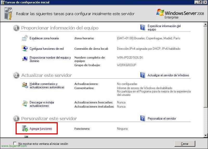 Instalación y configuración de Microsoft Windows Server 2008 Hyper-V