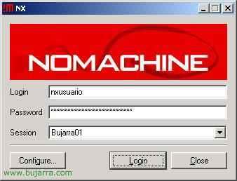 Hacer que un Linux sea un servidor de Terminal Server con NXSERVER