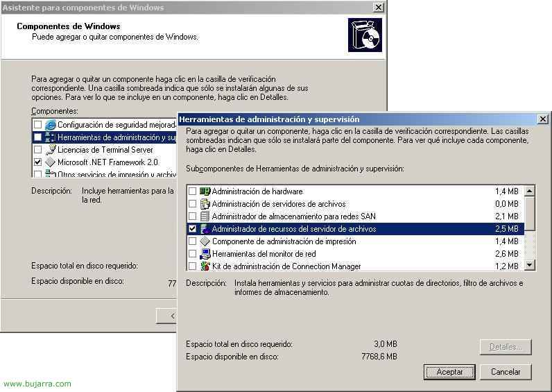 Resource Manager in Windows-Dateiserver 2003 R2