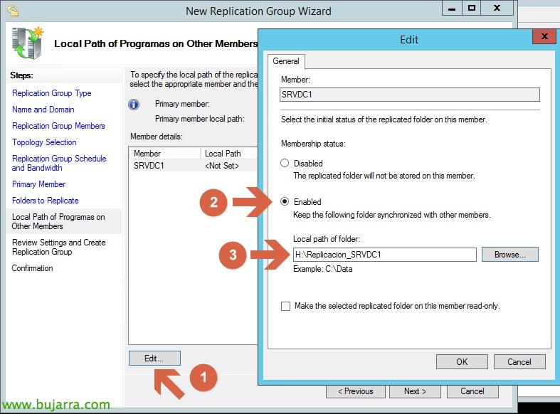 Citrix XenDesktop – DFS Replication (DFS-R) | Blog Bujarra com
