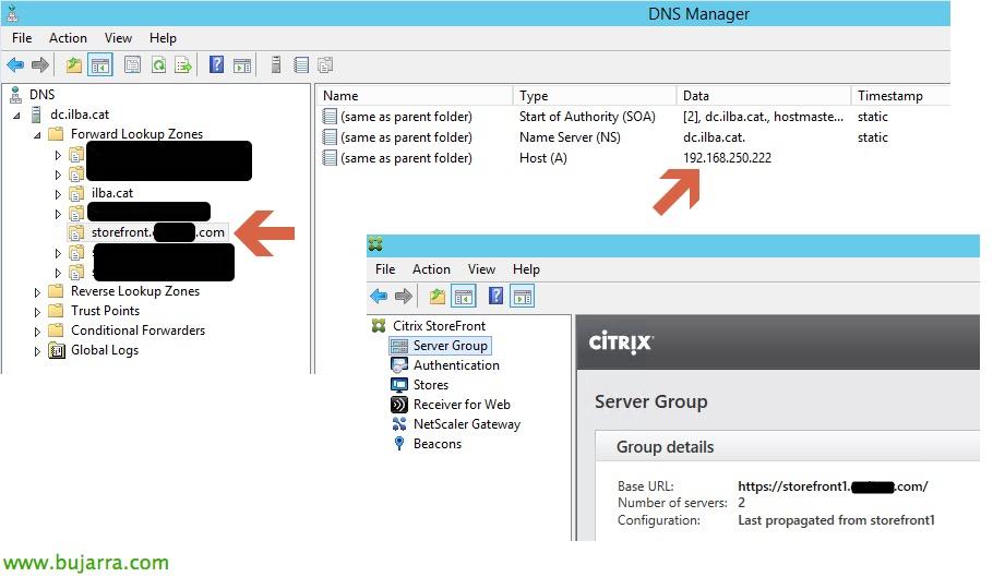 Citrix XenDesktop – Configurando NLB en StoreFront | Blog