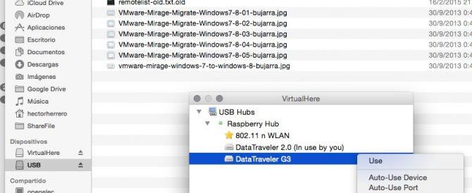 Raspberry Pi – Servidor de USB
