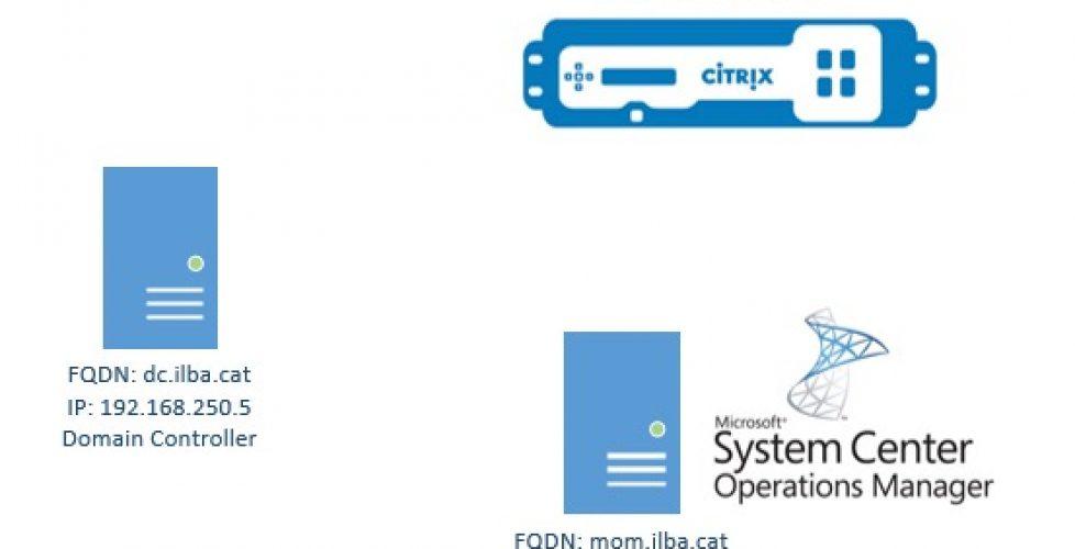 Integración de Citrix NetScaler con SCOM 2012 R2