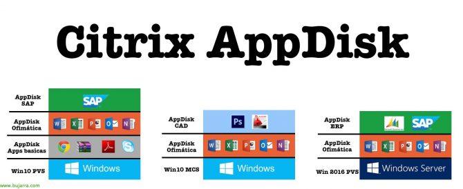 Utilizando Citrix AppDisk