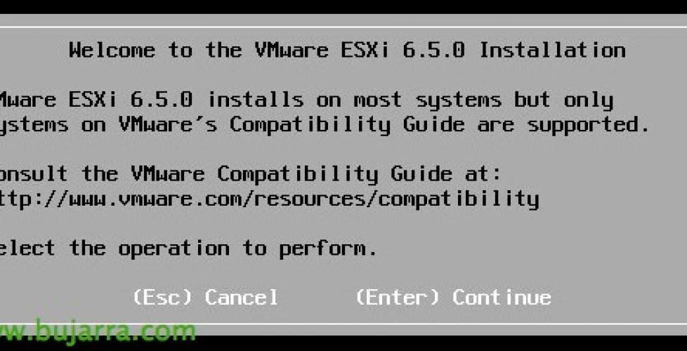 Update ESXi 6 5 y checklist pre-upgrade | Blog Bujarra com