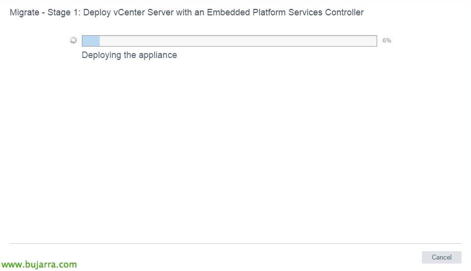 VMware-vCenter-Server-6-migrar-vCSA-65-15-bujarra