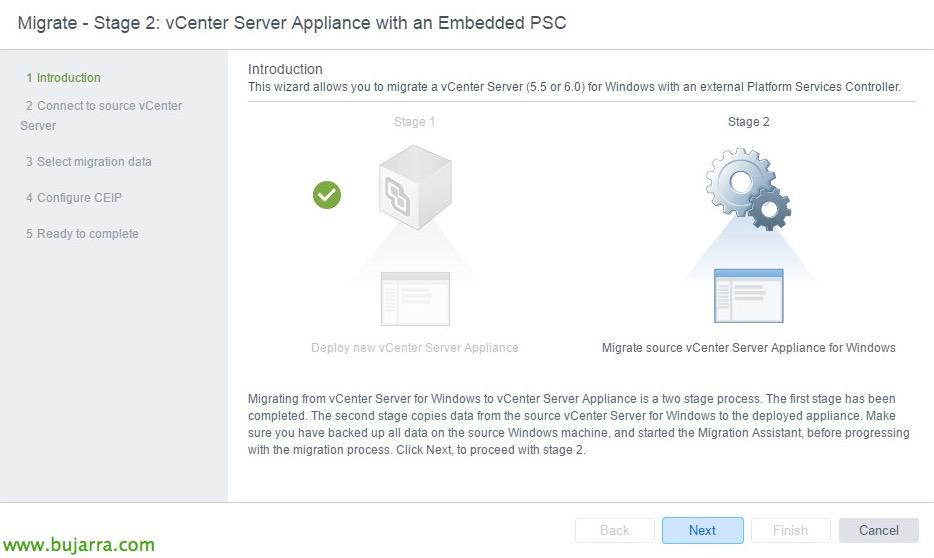 VMware-vCenter-Server-6-migrar-vCSA-65-17-bujarra