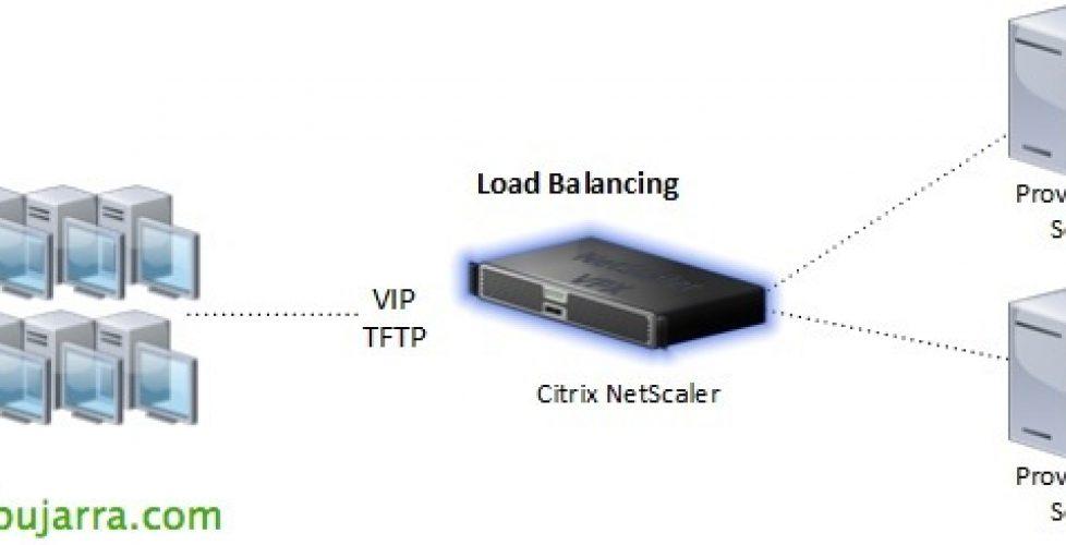 Load Balancing de Citrix Provisioning con NetScaler