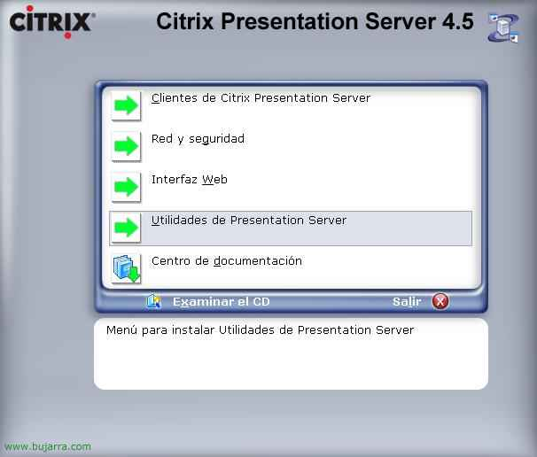 Instalación y configuración de Citrix Conferencing Manager
