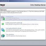 Instalación y configuración de Citrix Desktop Server 1.0
