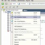 Uso de Datastore Cluster en VMware vSphere 5