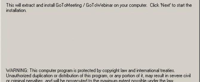 Instalación y configuración de Citrix GoToMeeting