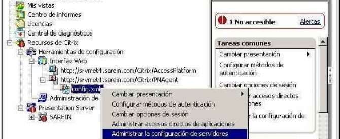 Program Neighborhood Agent sobre Citrix Secure Gateway – PNA over CSG en Presentation Server 4.x
