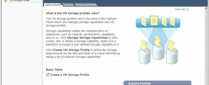 Uso de VM Storage Profiles – Profile-Driven Storage