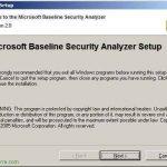 Microsoft Baseline Security Analyzer 2.1 – MBSA 2.1