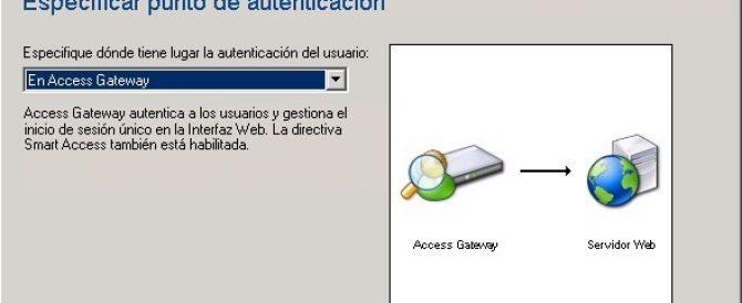 Instalación y configuración de Citrix Access Gateway VPX