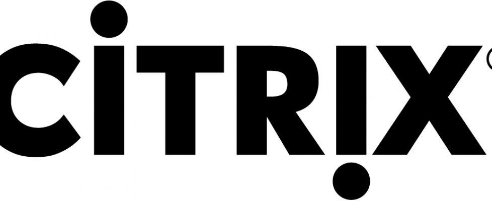 Citrix Logo schwarz
