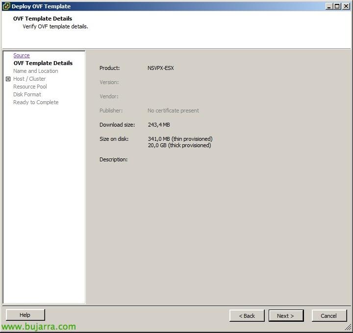 Instalación y configuración básica de Citrix NetScaler VPX
