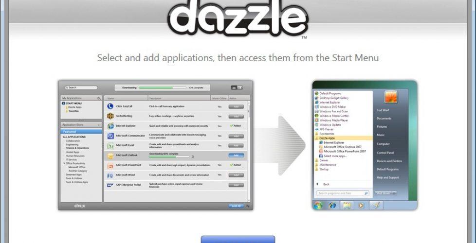 Uso de Citrix Dazzle