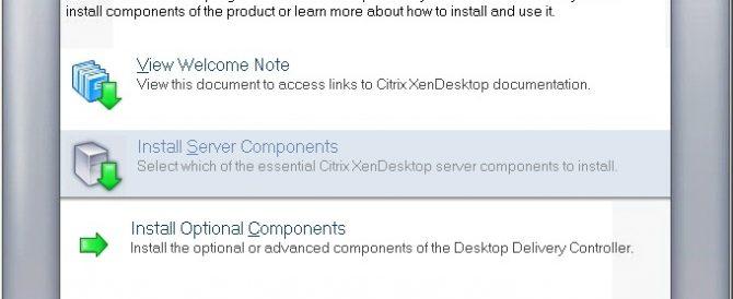 Instalando y configurando Citrix XenDesktop 4