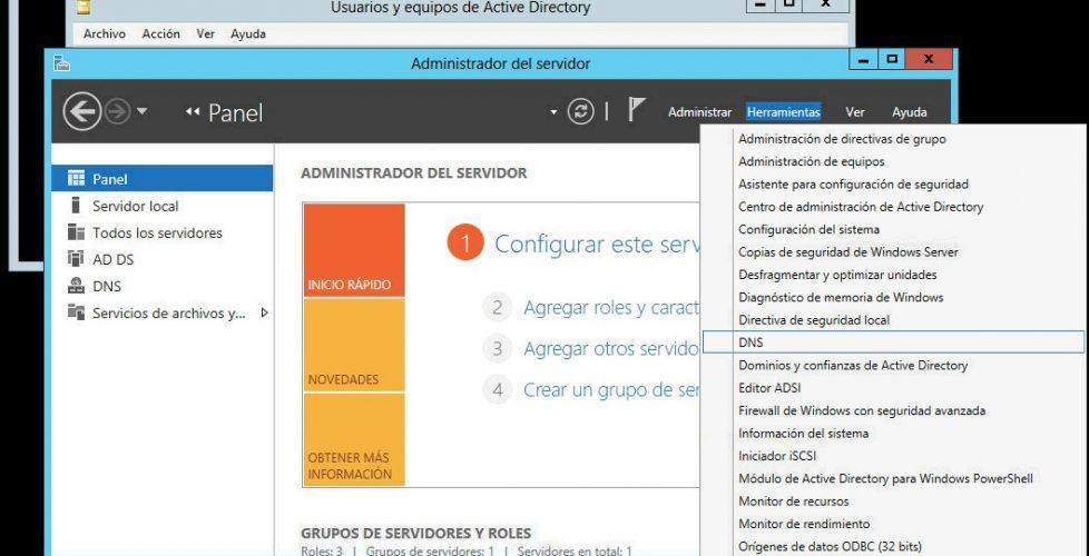 Cambiando Windows 2012 entre Core, interfaz básica y Full