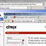 Actualización de Citrix Presentation Server 3.0 a 4.5 en el propio servidor