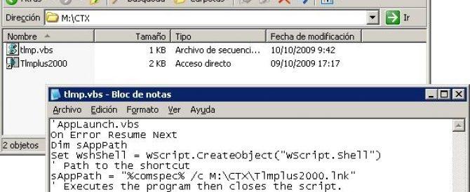 Publicando un acceso directo en Citrix XenApp