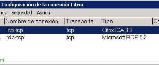 Configuraciones adicionales en un servidor Presentation Server o XenApp