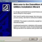 Instalación y uso de Dameware NT Utilities