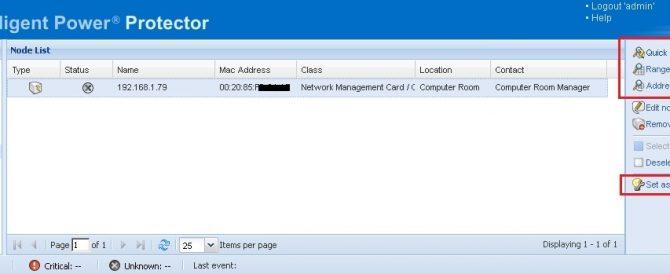 Configurando un SAI de EATON en vSphere