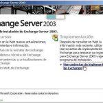 Instalando el primer servidor Microsoft Exchange 2003