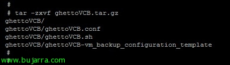 Copias de seguridad en VMware gratis con ghettoVCB