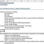 Ya disponible la guía de seguridad de vSphere 5.1