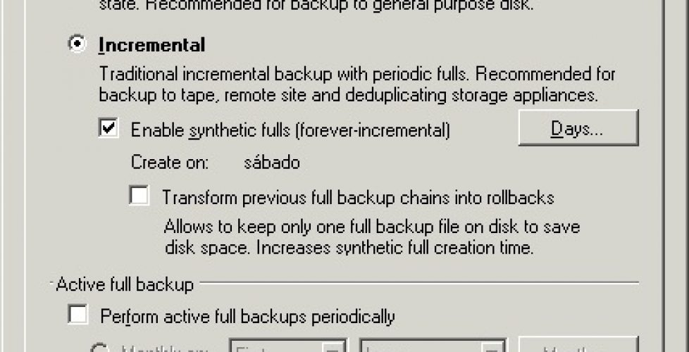 FAQ: Veeam Backup con backups a cinta | Blog Bujarra com
