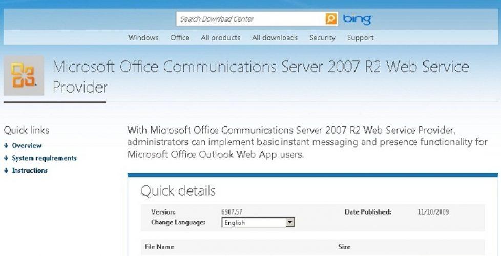 Integrando Lync Server 2010 con OWA