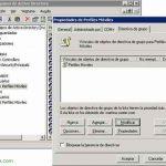 Configurando Perfiles móviles en Microsoft Windows
