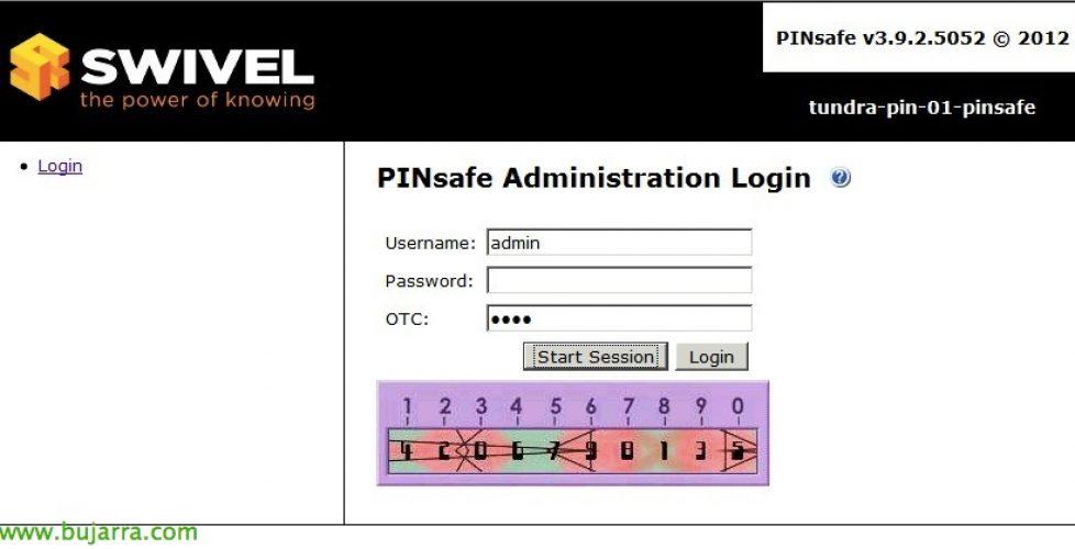 Instalación de PINsafe en Linux