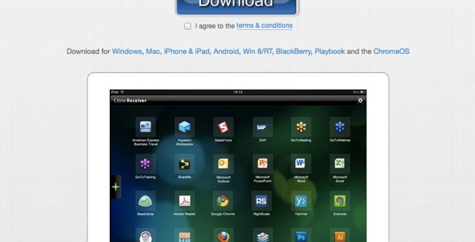 download citrix receiver