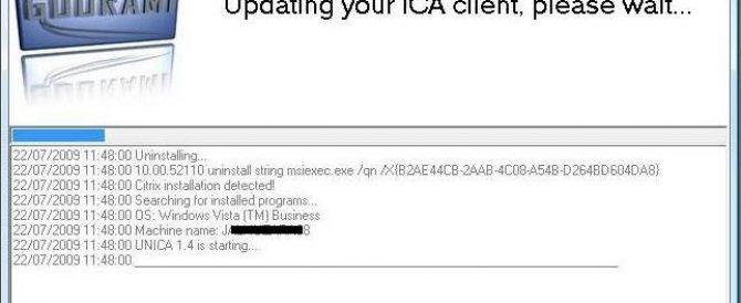 Desinstalando e instalando clientes Citrix de forma automática